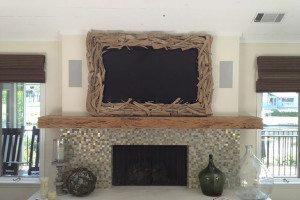 Hilton Head Custom Driftwood Frame
