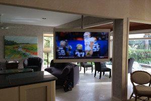 Hilton Head Sliding Television System