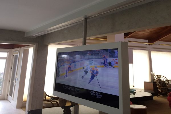 Hilton Head Sliding Television System Advanced