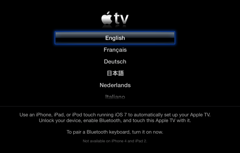 here is your apple tv set up guide