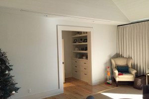 Hidden Projection Screen