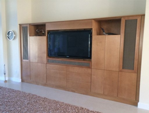 Custom Designed Media Room
