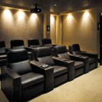 Relaxing Home Theater Seating