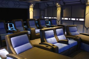 Custom Home Theater Seating with Fortress Seating