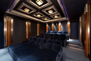 Home Theater Seating - Advanced Integrated Controls