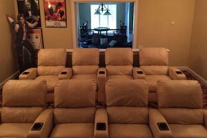 Home Theater Seating Advanced Integrated Controls