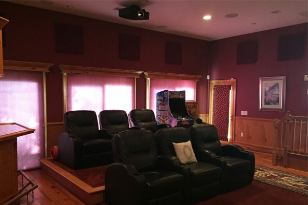 Home Theater Amp Entertainment Room Advanced Integrated