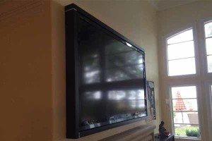 Custom Built TV Frame