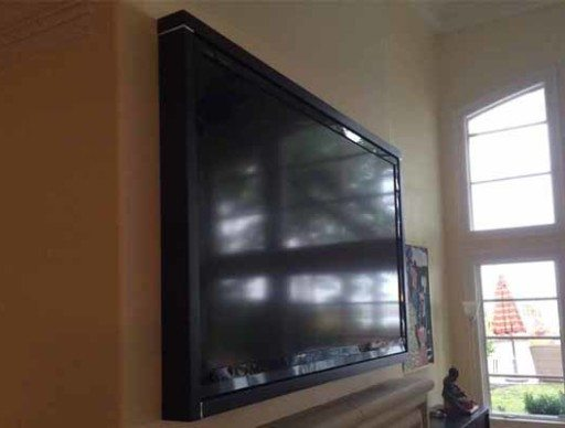 Custom Built TV Frame