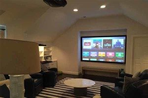 Family Size Home Theater