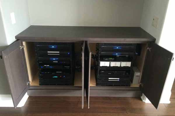 synergy designs off av shop cabinet storage salamander
