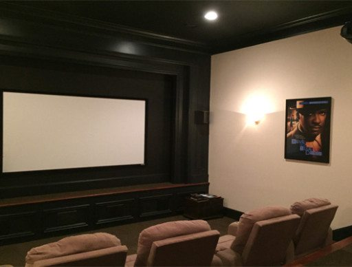 Comfy Home Theater