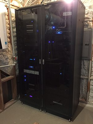 Dedicated Home Automation Rack Room
