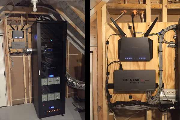 A V Rack Room