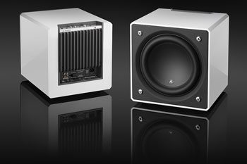 JL Audio White Subwoofer