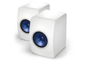 White Bookshelf Speakers