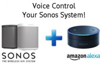 Voice Control Sonos with Alexa