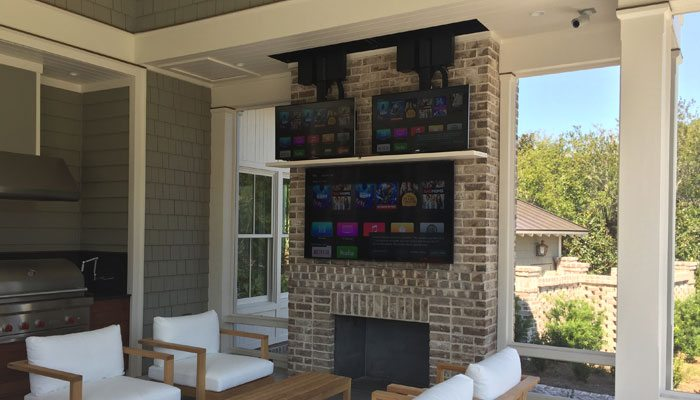 TV Lift for Outdoor Patio
