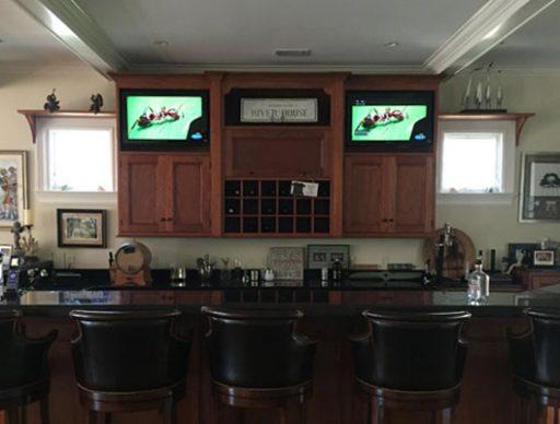 Built-In Cabinet TVs