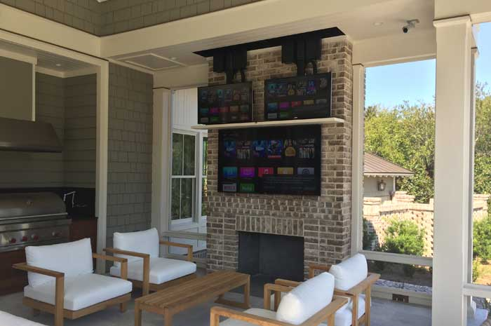 where can a custom tv lift be installed