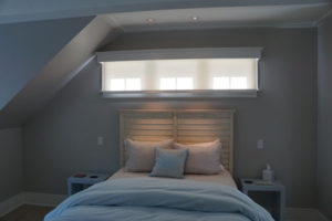 Closed Lutron Roller Shades