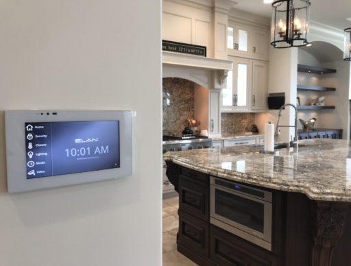 """Elan 7"""" Touchscreen allows for full home control"""