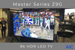 Sony Z9g at Cedia
