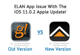 Attention all Elan App Users