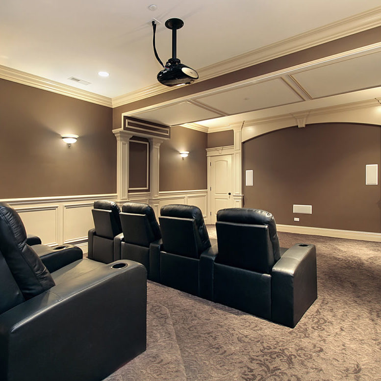 Home Theater Seating Shutterstock