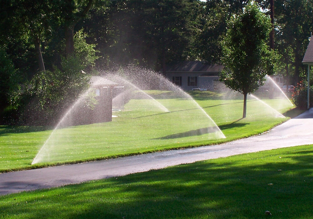 Irrigation with AIC