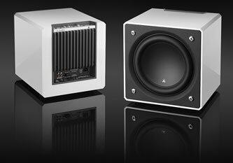 JL Audio White Subwoofer