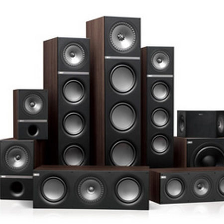 KEF Bookshelf and Tower