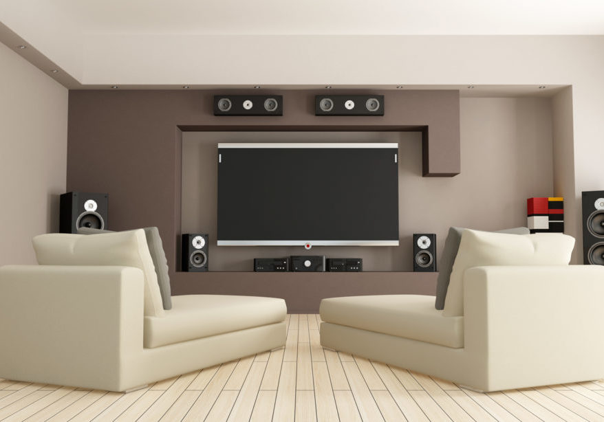Media Room from Shutterstock