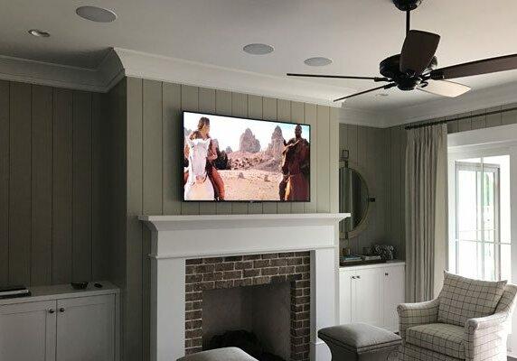Media Room with Sony TV