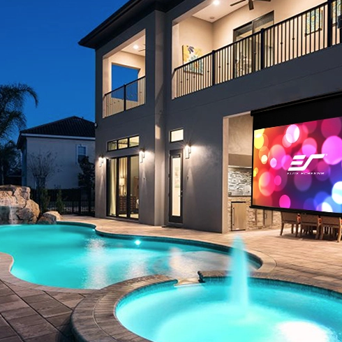 outdoor projector