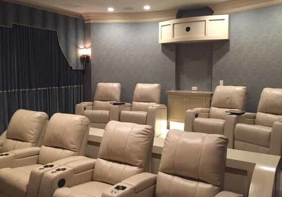 Dedicated Home Theater Seating