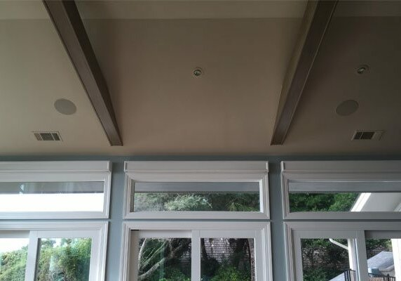 In-Ceiling Outdoor Speakers - Hilton Head Island